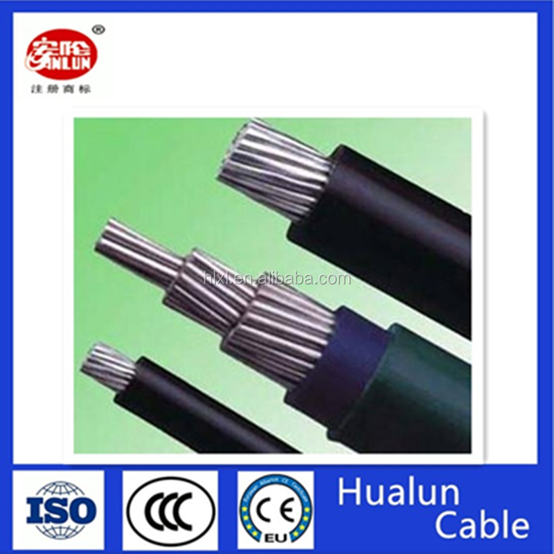 ABC (aerial bundle cable) aluminum conductor 70 mm2 95 mm2 electric power cable