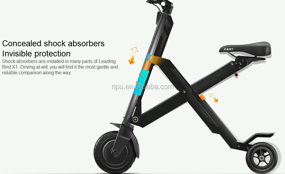 x bird foldable electric scooter x1 adult electric. Black Bedroom Furniture Sets. Home Design Ideas
