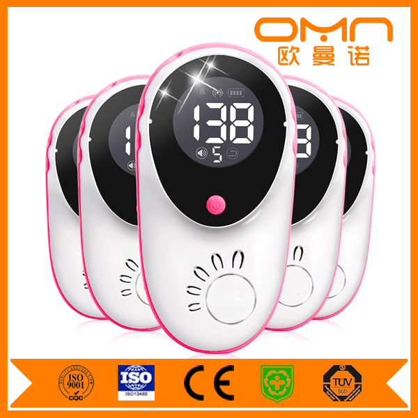 Mindray Water Proof Fetal Doppler Shenzhen Best Selling Recordable Bluetooth Wifi Baby Heart Beat Monitor Ultrasonic Sensor