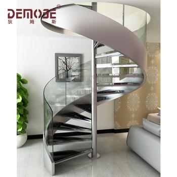 De vidrio de acero escalera en espiral dimensiones buy - Escalera en espiral ...