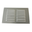 "9""*6"" rectangle stain anodized aluminum air louvre vent"