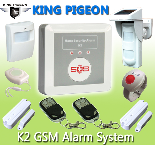 Home Automation Long Distance Wireless Remote Control alarm K2