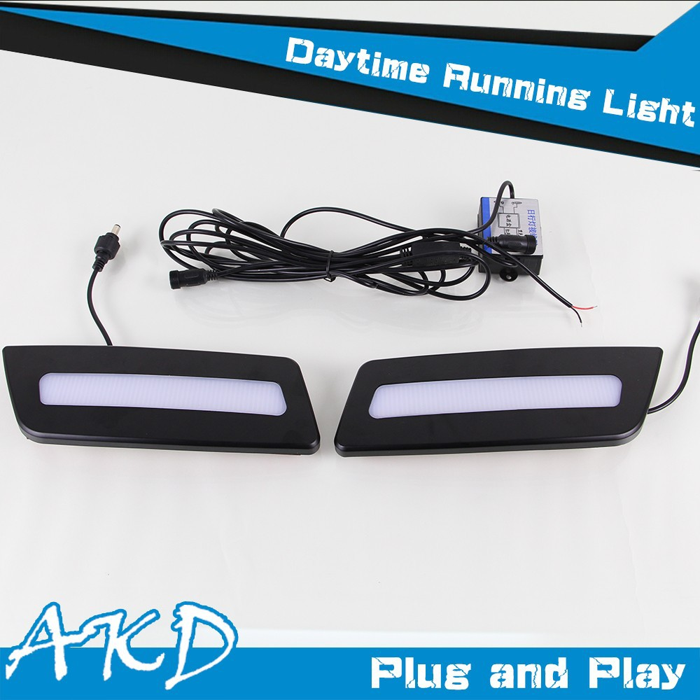 AKD Car Styling LED Fog Lamp for Infiniti FX35 DRL Emark Certificate Fog Light High Low Beam Automatic Switching Fast Shipping