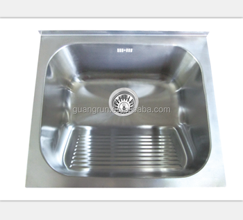 Stainless Steel Single Bowl Undermount Hand Wash Kitchen Sink ...