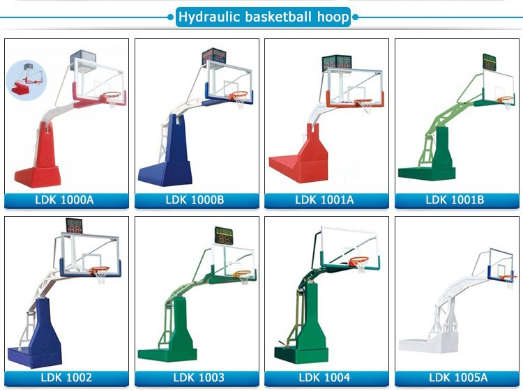 Hot selling basketball court stand junior basketball goal post