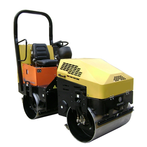 Power screed mini asphalt 1 ton roller for sale