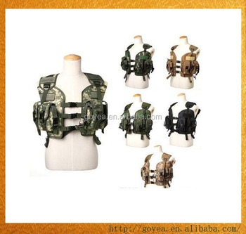 0e880b571192 Top Quality BDU US Navy Seals 97 Vest Military Molle Water Bag Swat Tactical  Vest Army