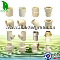 ASTM DIN JIS Industrial CPVC Pipe Fittings