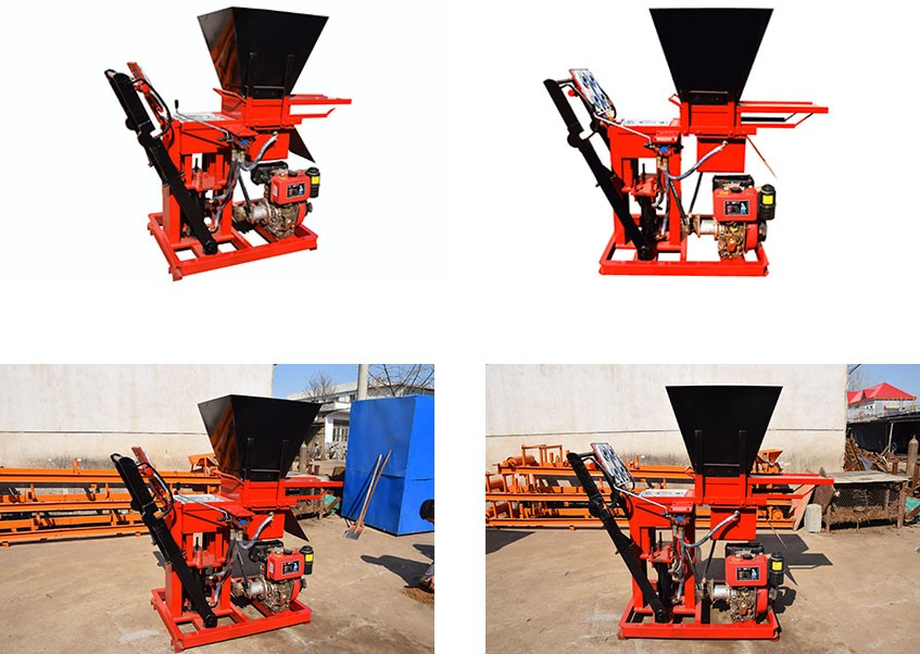 Eco brava 1-25 soil interlocking block moulding machine prices in nigeria