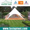 Aluminum white PVC fabric waterproof star shade tent for wedding party glamping outdoor event in Guangzhou