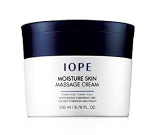 FREE INTERNATIONAL SHIPPING + IOPE Moisture Skin Massage Cream (All Skin / Moisturizing / 200ml)