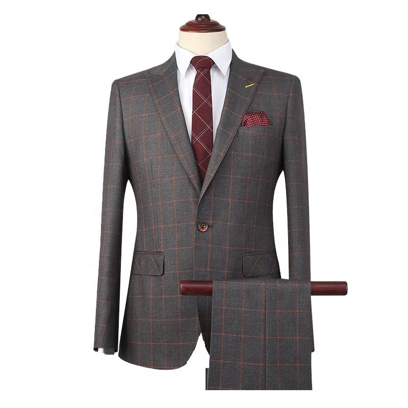 2019 High Quality Tailor Mande 2 Piece Grey Coat Pant Men Suit , Buy Grey  Coat Pant Men Suit,2 Piece Coat Pant Men Suit,Tailor Made Suit Product on