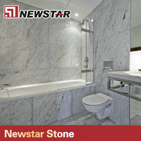 Bagno In Piastrelle Di Marmo Bianco Di Carrara Design - Buy Product ...