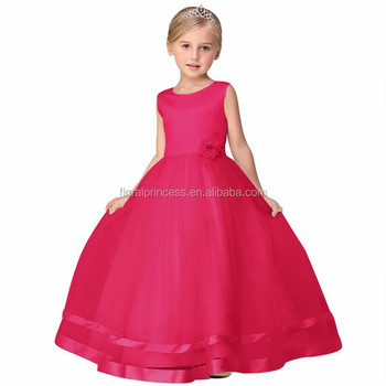 8934ed324fc1 Baby Girl Wedding Dress Teenage Girl Party Dress Girls Summer Frocks  Designs Kids Clothes Tulle Children