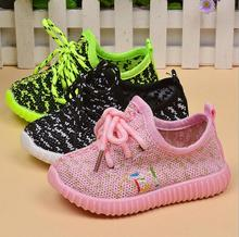 2016 New Spring children canvas shoes girls and boys sport shoes antislip soft bottom kids shoes