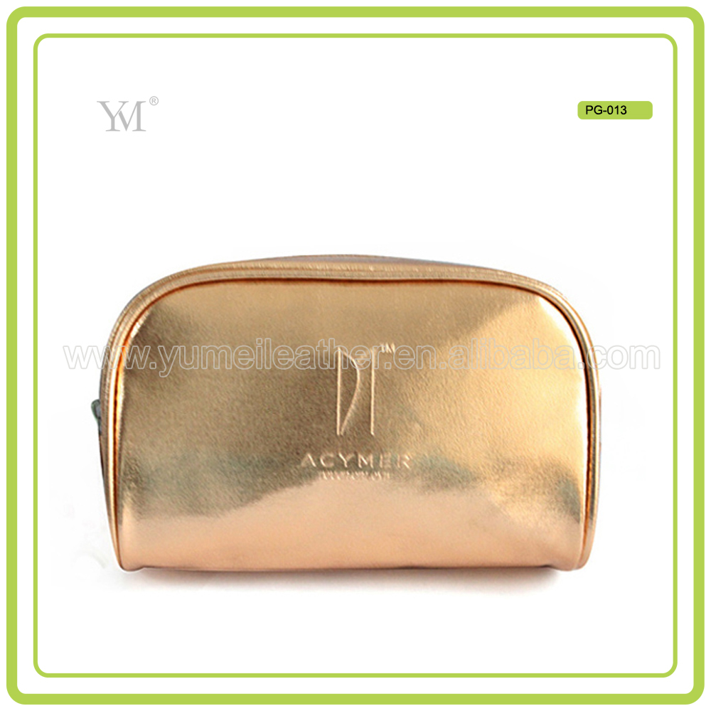 glitter makeup wholesale leather clutch women bag