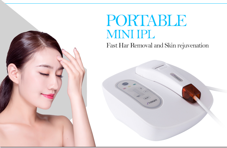 2 Years Warranty IPL Portable Hair Removal