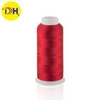 factory sale 100% polyester embroidery thread 120d/2 3000M for embroidery