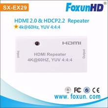 Premium Plastic HDMI 4K Repeater & HDMI Extender up to 50m /164FT at 1080p via HDMI cable