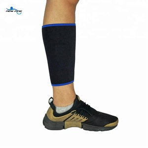 China supplier protection knee shin calf brace compression sleeve guard running sports