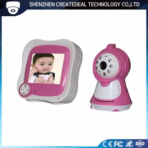 "Video Baby Monitor Phone With Camera Wireless 2.4 GHz 3.5"" LCD With Night Version"