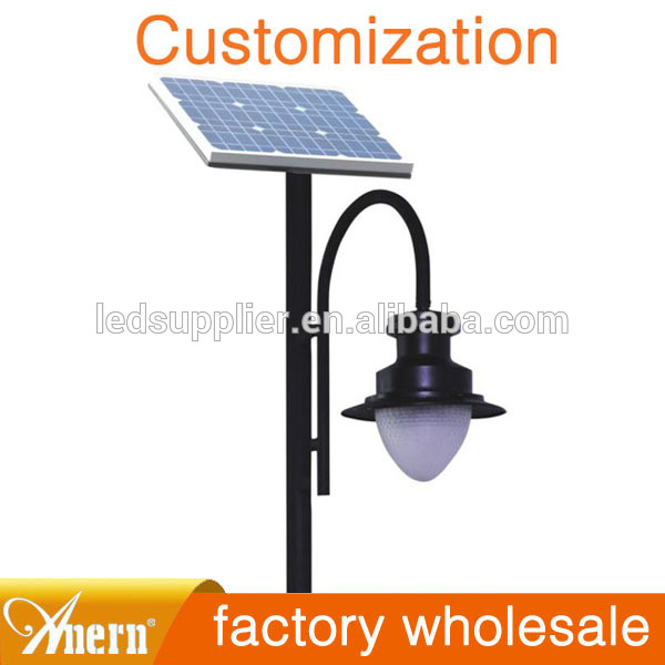 20w 4m 12v garden lights solar led outdoor garden lamps