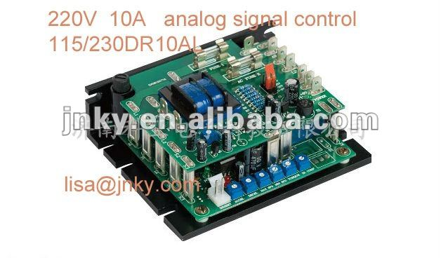 220V Dc motor speed controller PLC control