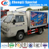 Foton 1.5tons Mini freezer Van truck used freezer truck box 4*2 for sale