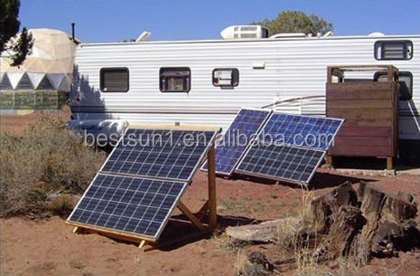 Complete Set High converting solar electricity generating system for home, solar home system 2000 W
