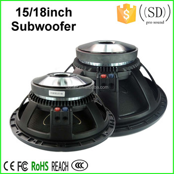 18 Subwoofer Speaker / 15 Inch Subwoofer Rcf Copy Speaker / Rcf 18 Inch  Subwoofer Powered Subwoofer Professional Speaker - Buy Sub Woofer,Guangzhou