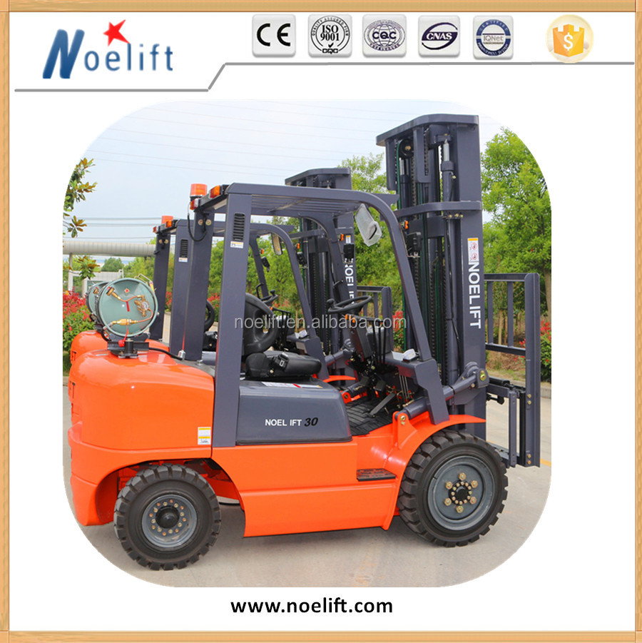 High Quality 1.0~1.8 ton Chinese Lpg/gasoline Forklift Trucks with Japan Engine