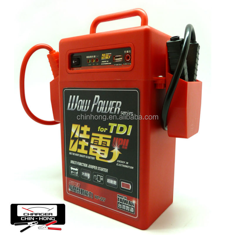 Multi-function Jump Starter WP-227 For Car Emergency Start Diesel vehicles