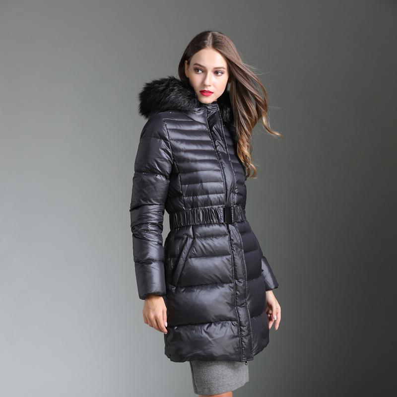 Fashion style women winter plus size goose down coats