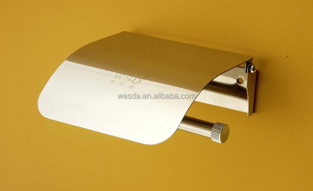 Toilet Accessoires Zwart : Wesda muurbevestiging wc accessoires zwart roestvrij staal