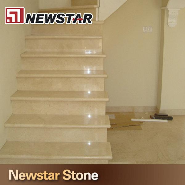 Beige marbre escalier tape moderne marbre escalier - Escalier moderne prix ...