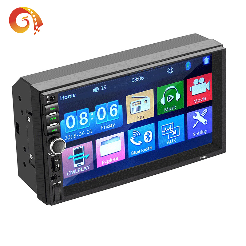 Auto Lettore 7880S USB/SD/MP3/MP4/MP5/BT Full Touch 2 Din Android auto Radio