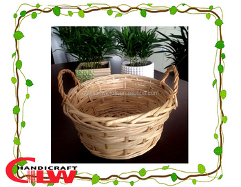 Easter basketgift basketwholesale wicker baskets1 pc wood chip easter basketgift basketwholesale wicker baskets1 pc wood chip and split negle Choice Image