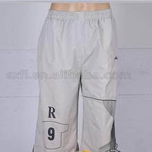 professional good serve mens leather sport trousers half pants for men