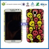 Colorful protective cover case plastic silicome combo case for samsung galaxy s4 i9500