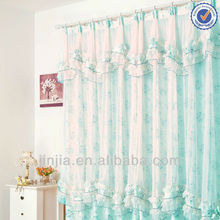 2016 New Fashion New design European Style Readymade new curtain designs 2012