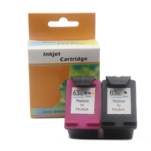 Ocbestjet For HP Ink Cartridge 63 63XL For HP Deskjet 2130 3630 3830 4650 4520 Printer