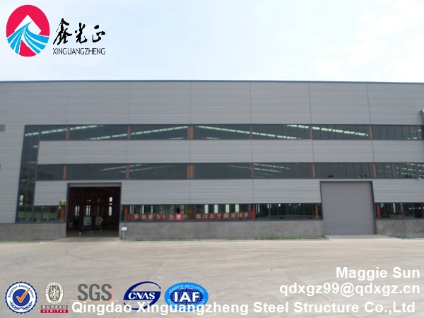 Metal barn Wide span Construction design steel structure warehouse
