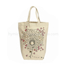 Fashion custom reusable folding canvas tote shopping bag