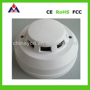 Cheap 4 wire photoelectric smoke fire alarm