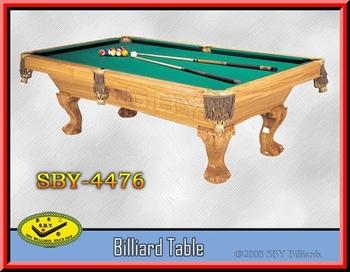 Tavolo Da Biliardo Snooker Elaborato Antico Intaglio Tavolo Da ...