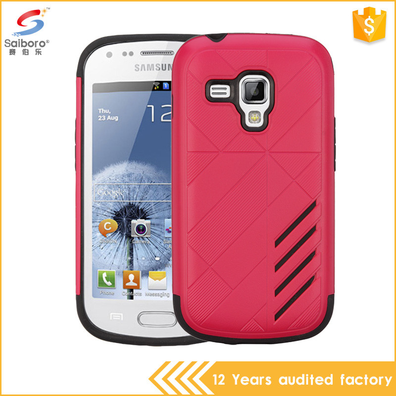 OEM welcome tpu pc back cover case for samsung galaxy star pro S7262