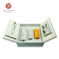 Wholesale Double Door Cosmetic Packing Paper Box With Foam Insert