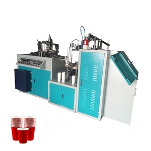 3-16oz double coated paper cup making machine