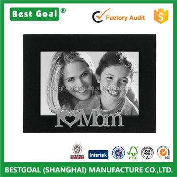 I Love Mom Black Mdf Photo Frame Buy I Love Mom Photo Framemdf
