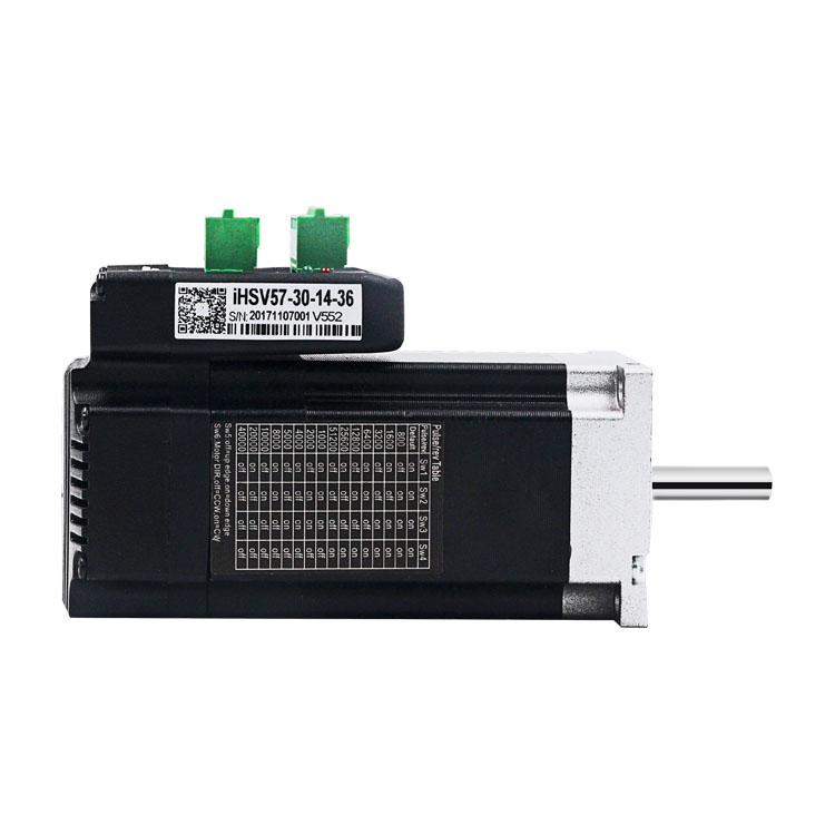 180W 3000RPM 36V integrated AC closed loop servo <strong>motor</strong> IHSV57-30-18-36